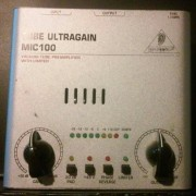 Beheinger Tube Ultragain Mic 100