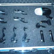Set micrófonos fame batería