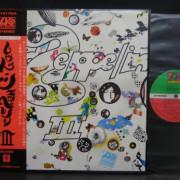 Led Zeppelin III Japan lp