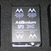 3x Millenieum SP3 Isolated Audio SIgnal Splitter nuevos sin usar