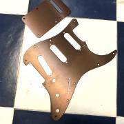Golpeador Strat marrón aluminio