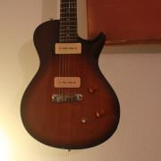 O cambio: PRS SE Soapbar guitarra P-90's - Gibson bridge