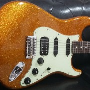 Fender Stratocaster Orange Flake