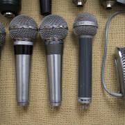 Vendo toda mi colección de micrófonos