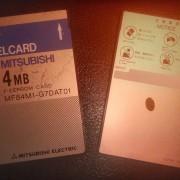 Tarjetas de memoria PCMCIA