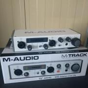 INTERFAZ USB M-TRACK II M-AUDIO