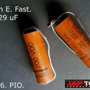 Condensadores para guitarra John E. Fast. USA 50´s