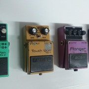 Pedales boss PN-2 , TW-1, BF-2 y MZ-2