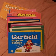 libros de garfield.