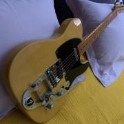Fender Telecaster 52 reedición Bigsby