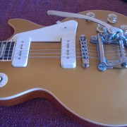 Les Paul Traditional Gold Top P90s 60s Neck con o sin Bigsby