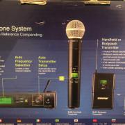 Shure SLX + SM58 microfono inalambrico