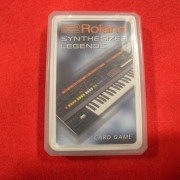 ROLAND SYNTHESIZERS LEGENDS CARD. MUY RARO!