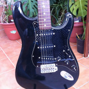 Stratocaster Squier Silver Series Japan