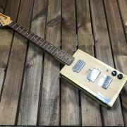Cigar Box 6 cuerdas LCA Guitars (video dentro)