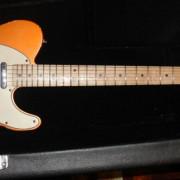 CAMBIO/Telecaster MJT Musikraft Custom Order Tangerine
