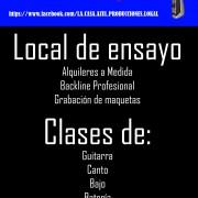 LA CASA AZUL - LOCAL DE ENSAYO-CLASES-GRABACIONES-BARCELONA