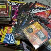Revistas Computer Music / Future Music, con cd´s. Lote o unidades