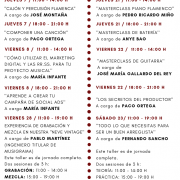 masterclass y cursos música MADRID Nov. 19 MUSIGRAMA // PRESENCIALES