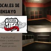 Locales de ensayo Madrid California Studios