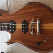 Guitarra luthier PRS zurda zurdo