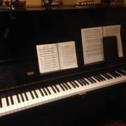 Piano acústico Yamaha U3 12 años comprado nuevo