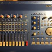 Interfaz audio midi controlador daw tascam us428