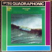 Cinta de magnetófono de bobina (Reel to Reel) sonido cuadrafónico - Debussy