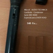 Microfono Especial Over Head AUDIO TECHNICA