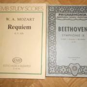 Requiem de mozart y novena sinfonía de beethoven