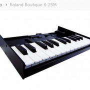 Teclado K-25m para Roland Boutique Series