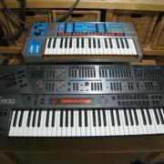 Moog Source y Roland JD-800 problema de cera