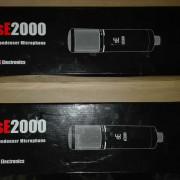 Pareja de micros SE 2000