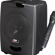 Altavoz batería 50W CD / USB / Mp3 / Mando IR / Mic inalam / Bluetooth