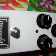 Pedal Overdrive/Booster Lovepedal E6 (Blanco)