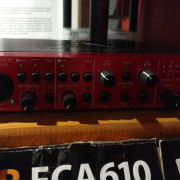Interfaz de audio FCA610 de Behringer