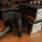 Micrófonos Neumann TLM193 con Araña Neumann EA1mt
