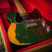 Fender '72 Telecaster Nitro Relic 1993 Green Metallic JAPAN