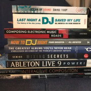 8 libros / books inglés / English - Music Production DJing tech technology