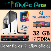 Mac Pro Thunderbolt Hackintosh intel i7 32 GB Ram 250 GB SSD