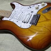 fender stratocaster deluxe 2009 ( pastillas shur ) prueba sonido