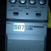 Ibanez sb7 synthetizer bass