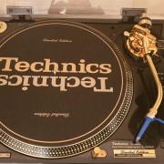 Technics 1200 LTD Gold Edition