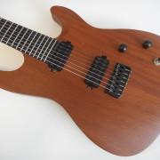 Chapman ML7-S guitarrón de 7 cuerdas con Bareknuckle Aftermaths