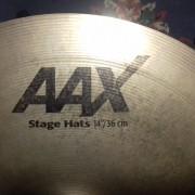 Charles AAX STAGE HATS sabian. 14¨