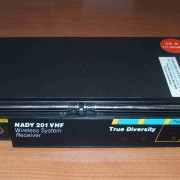 Sistema inalámbrico Guitarra/Bajo NADY 201 VHF