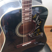 Vendo/cambio Acústica Aria Custom Hummingbird Made in Japan
