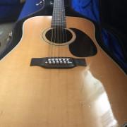 guitarra acústica 12 cuerdas sigma original de 1974