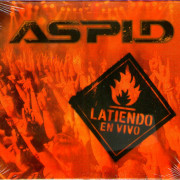 """DVD+CD ASPID """"LATIENDO EN VIVO"""""""
