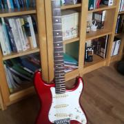 Fender stratocaster Contemporary 1986